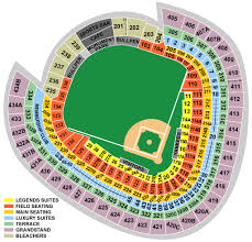 Yankee Stadium Legends Seating Chart Breakdown Of The Yankee Stadium Seating Chart New York Yankees