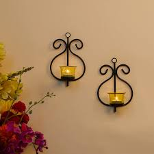 decorative wall sconce candle holder
