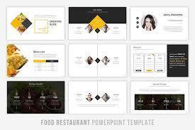 Food Presentation Template Food Presentation Powerpoint By Brandearth Thehungryjpeg Com