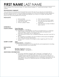Resume Personal Attributes Templates Best of Resume Personal Attributes Templates Kantosanpo