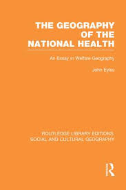 library editions social and cultural geography routledge geography of the national health rle social cultural geography