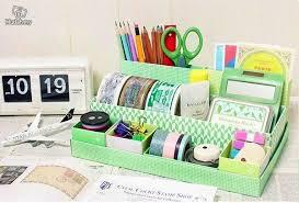 diy office desk accessories. Diy Green Paper Tray Desk Decor Office Accessories Y