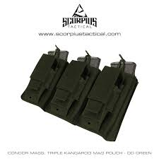 Ar 15 Magazine Holder Condor Ma100 Triple Kangaroo AR100 Mag Pouch With Molle Attachments 96