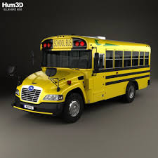 Blue Bird Vision School Bus L1 2015 By Humster3d 3docean