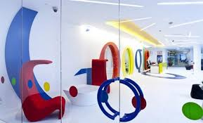 office interior designers london. Perfect Designers Googleu0027s New Vivid Office Interior In London For Designers R