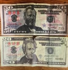 Dollar Chinese Writing Of Summary With - Fake Bills gt; Police Warn