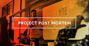 Project Management Post Mortem Template A Project Post Mortem Template