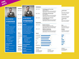 Clean Microsoft Word Resume Template Free Graphicslot