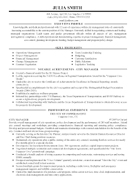 City Manager Resume Example city manager resumes Savebtsaco 1