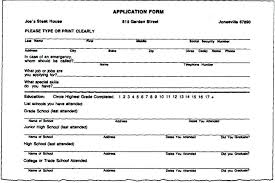 how to fill out a form how to fill out a resume for a job app to fill out forms on with