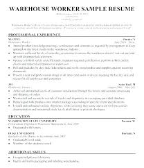 Warehouse Resume Template Beauteous Data Warehouse Resume Warehouse Resumes Samples Packer Resume