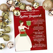 Holiday Bridal Shower Invitation Christmas Ornament Shower Bridal Luncheon Holiday Bridal Shower Engagement Party Invite Holiday Shower