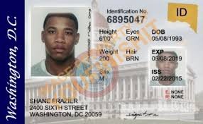 Dc Od Washington Card Id