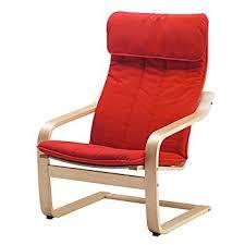 Amazon Ikea Poang Chair Cushion Ransta Red Cushion ly