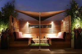 Rooftop Terrace Design Ideas. If you use wood creatively you could make any  space cooler. In this neat solution