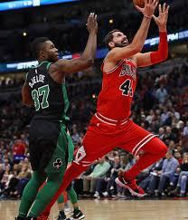 nikola mirotic bulls.  Nikola Nikola Mirotic 44 Of The Chicago Bulls Drives Past Semi Ojeleye 37 Throughout