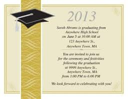 Graduation Templates Word Free Graduation Party Invitation Templates For Word