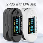 <b>2PCS Digital Finger Oximeter</b> Portable Electronic LED Display ...