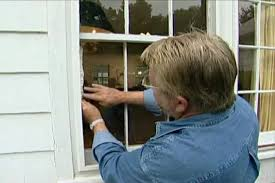replace a broken glass window pane
