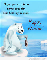 funny happy winter image with quote