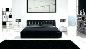 Black And White Bedroom Furniture Black And White High Gloss Bedroom ...
