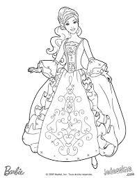 Coloriage Robe Princesse L L L L L L