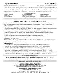 Nurse Manager Resume Impressive Jfrancisnurse Manager Resume