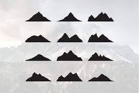 Jump to navigation jump to search. 12 Mountain Silhouette Landscape Icon Peak Simple 763326 Logos Design Bundles