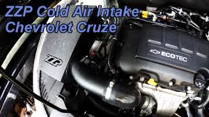HD Chevrolet Cruze ZZP Performance Cold Air Intake Install - New ...
