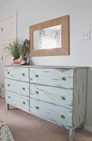 Small Picture Beach themed bedroom Aqua painted unfinished dresser from Ikea