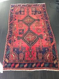 carpet ebay. 3\u00278 x 6\u00276 genuine s antique persian mehriban tribal hand knotted wool carpet ebay