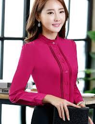 Female Office Shirt Designs Clothes Female Office Shirt 2016 Autumn Blouse Long Sleeve