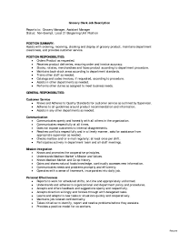 Grocery Store Cashier Job Description For Resume Sample Resume For Working In A Grocery Store Best Of Grocery Store 42