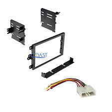 geo tracker dash car radio stereo double din dash kit wire harness for 1995 97 geo metro tracker