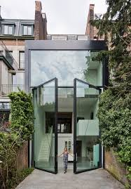 Antwerp Townhouse With Giant Pivoting Windows