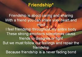 friendship example essay
