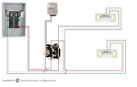 lighting contactor wiring diagram with photocell images graphic