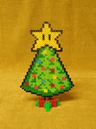 Christmas Tree Fuse Bead Pattern SimplePerler Beads Christmas Tree