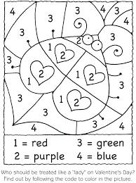 coloring pages number coloring sheets for preschoolers printable color by pages valentine nu