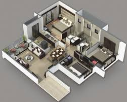 stunning 3 bedroom house plans home design ideas 4 bedroom 2 story house plans 3d image
