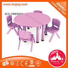china movable dining table chair half round table for kids china half round table dining table chair