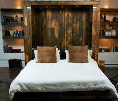 king size murphy bed. Unique Bed ReclaimedBarnWoodKingSizemurphybed In King Size Murphy Bed E