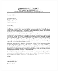 healthcare administration cover letter cover letters letter sample and on pinterest with regard to 19