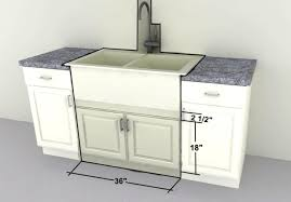 Farmhouse Sink Cabinet Furniture Inspiring Utility Sink Cabinet For Laundry