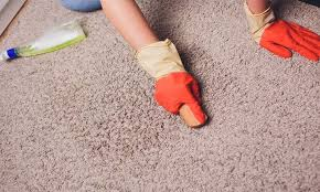 get spray paint out of carpet fast