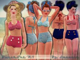 Bikini in teens of click