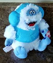 ble the abominable snow monster plush sings rudolph the red nose sits 7 inches