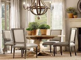 kitchen table clipart. natural wooden round dining table with flowerspot and chandelier ~ http://lanewstalk. kitchen clipart