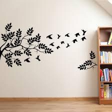 Meerdere Vogels In Boom Muursticker In 2019 Decorating Home