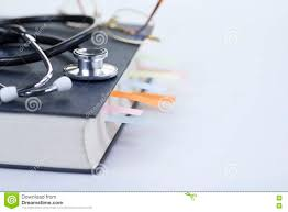 <b>Medical</b> Student Textbook stock photo. Image of <b>stethoscope</b> ...